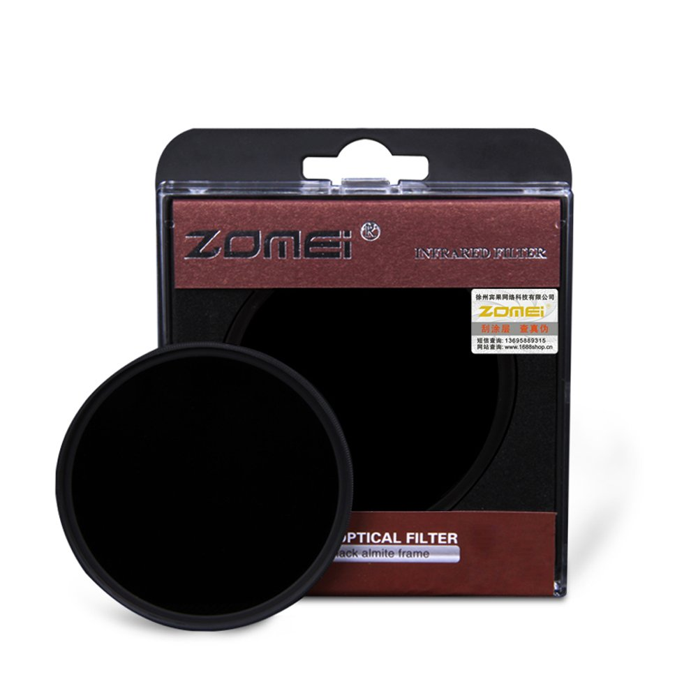 ZOMEi 77MM IR 720 GLASS Infrared X-Ray Filter