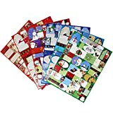 JOYIN 216 Pieces Christmas Stickers Gift Tag Self
