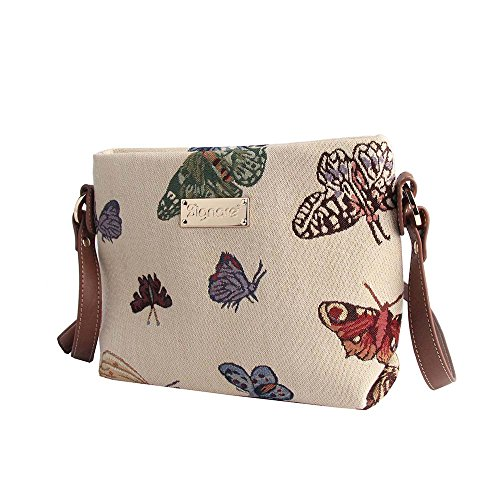 Messenger Bag Animal Shoulder Handbag Across Body Butterfly Fashion Tapestry Signare Womens txqw8zP0