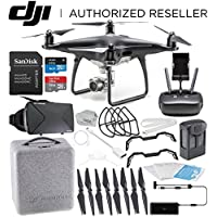 DJI Phantom 4 PRO Obsidian Edition Drone Quadcopter (Black) Virtual Reality Experience VR Starters Bundle