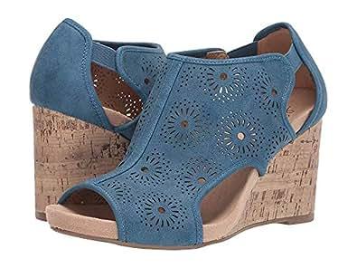 Amazon Com Lifestride Women S Hinx Wedge Sandal