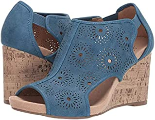 LifeStride Womens Hinx Wedge Sandal