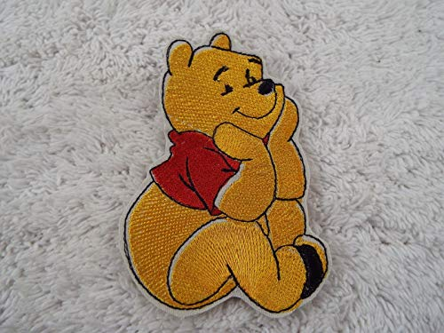 WINNIE the POOH Bear Embroidered Iron-on Patch