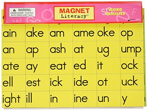 Dowling Magnets DO-733002 Word Family Magnets, 11.25