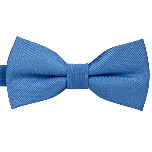 Baicfquk Formal Dog Bow Ties, Adjustable Bowtie, Fashion Accessories for Pet Dog Cat BT621 (Sky blue)
