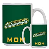 Vermont Mom Full Color White Mug 15oz 'Slanted Vermont Catamounts'