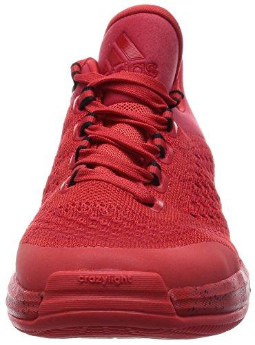 Primekni Crazylight Hombre Blanco Boost 2015 adidas Negro para Zapatillas Rojo ZHqtqn
