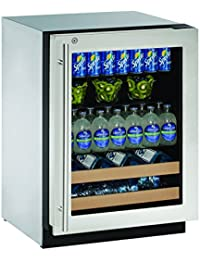 U-Line U2224BEVS13B 24 Built-in Beverage Center, Stainless Steel