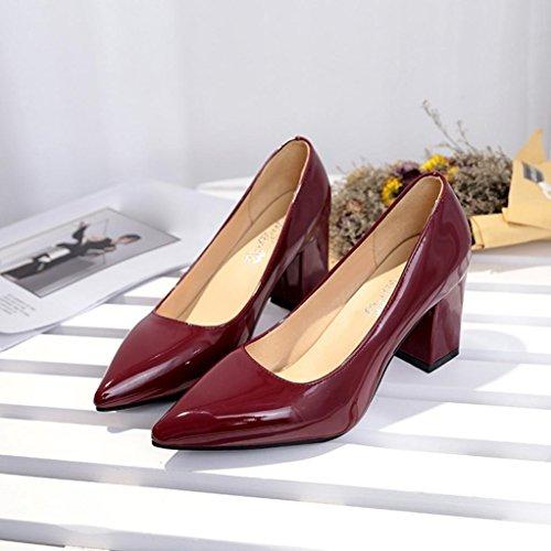 Tac Sexy Moda Zapatos de 2018 Mujeres aXAqwWC