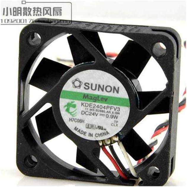 Cytom for SUNON Jianzhan KDE2404PFV3 24V0.9W 4010 4CM3 line Alarm Mute Inverter Fan