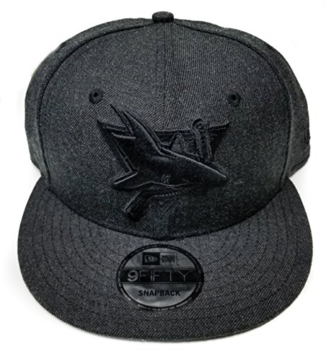 San Jose Sharks New Era Speed Up Snapback Cap Hat Grey Black