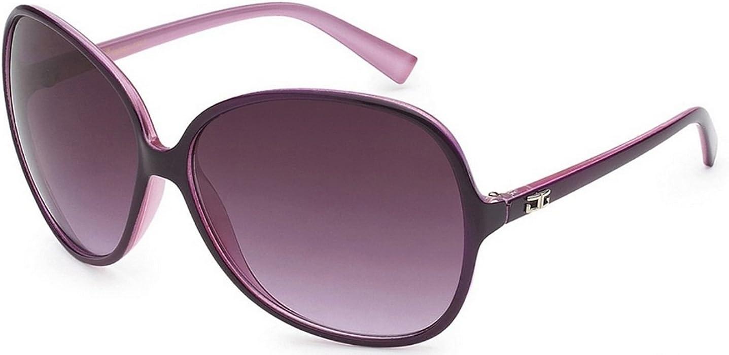 75c5f3cd235 CG Eyewear Designer Vintage Oversized Women s Sunglasses (Plum Purple  Oversized)
