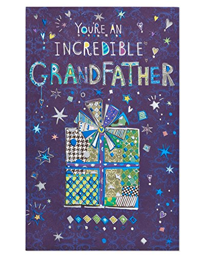 American Greetings Grandpa Thing Birthday Card for Grandpa with Foil