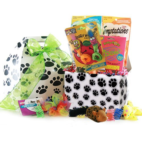 The Cats Meow - Pet Gift Basket - Cat