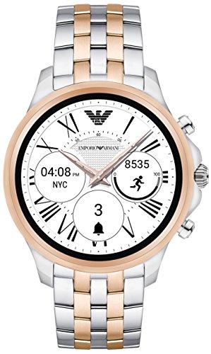 armani touchscreen smartwatch