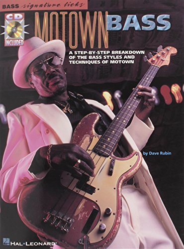 Motown Bass (Bass Signature Licks) by Dave Rubin (2000-10-01) (Signature Bass Licks)