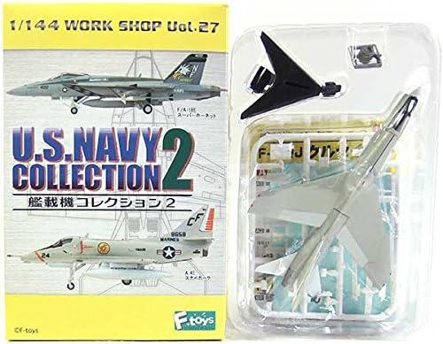 【2B】 エフトイズ 1/144 艦載機コレクション Vol.2 F-8E/J クルセイダー 第53戦闘飛行隊 単品