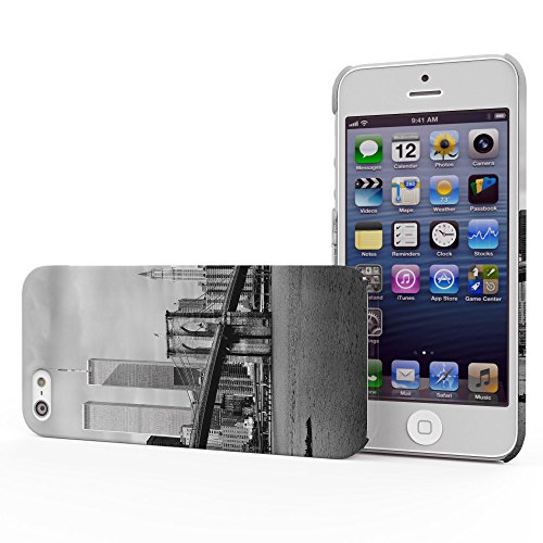 Koveru Back Cover Case for Apple iPhone 5S - The World Trade Centre