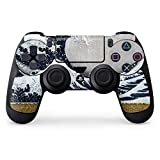Hokusai PS4 Controller Skin – The Great Wave off Kanagawa | The Classics & Skinit Skin For Sale