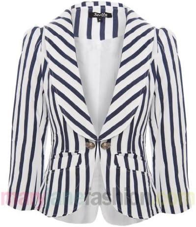 Ladies Attentif Blazer Womens Jacket Black Smart Casual Suit Top Size 8 10 12 14