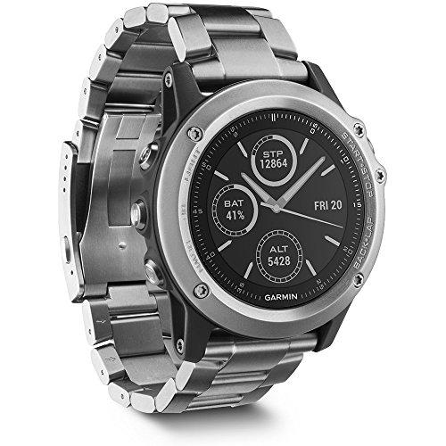 Garmin fenix 3 Sapphire GPS Watch Silver 010-01338-40