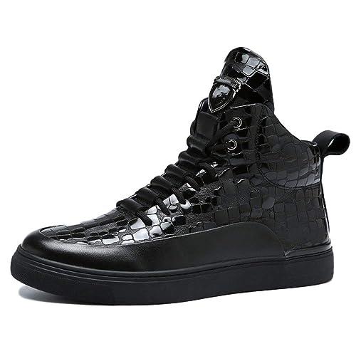 Botas Doc Marten para Hombre Botas para Adultos Botas Clásicas Botas Altas De Cuero Clásicas De Otoño Botines Deportivos,Black-40: Amazon.es: Zapatos y ...