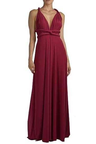 Von Vonni Donne vestito trasformatore lungo  Amazon.it  Abbigliamento 2ee6e655f98