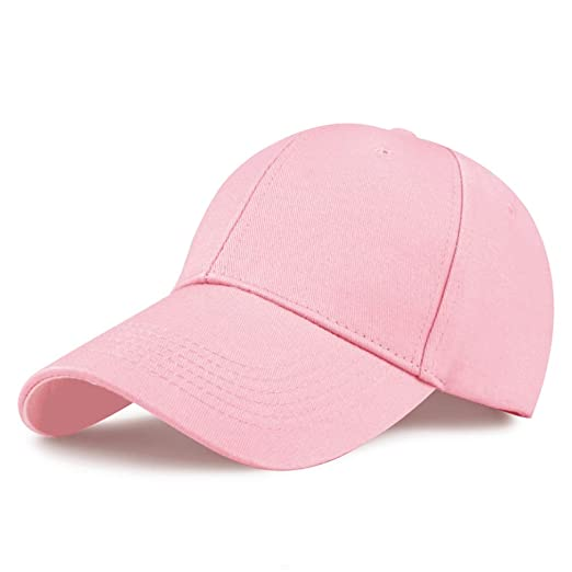 076b2209 GADIEMKENSD Cotton Baseball Cap, Quick Dry Lightweight Breathable Soft  Outdoor Run Cap Plain Youth Sports