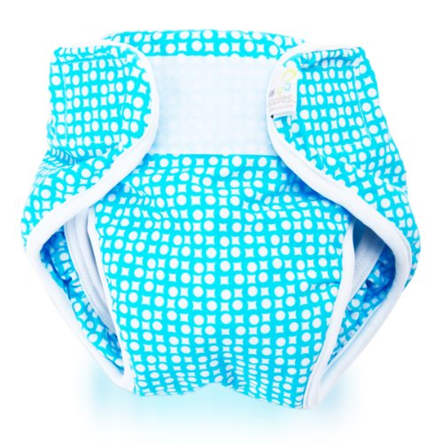 Real Nappies Splash Wrap Swimming Diaper with New and Improved Gusset Design by Real Nappies