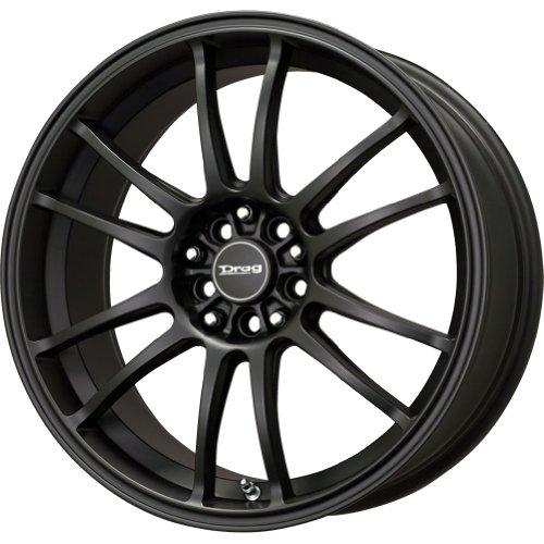 Drag Wheels DR-38 17x9/ 5x100/ 5x114.3 et28 Flat Black (Drag Dr 9 Black Wheel)