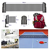 Adhafera Ping Pong Net,Upgraded Protable