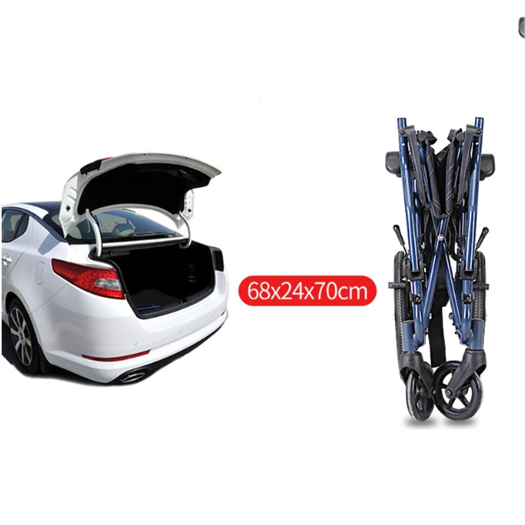 Amazon.com - YE ZI Hand Push Wheelchair - Care Brake + Hand ...