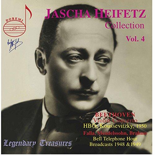 Jascha Heifetz Collection, Vol. 4 (Live)