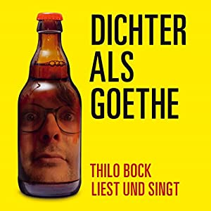 Dichter als Goethe Hörbuch