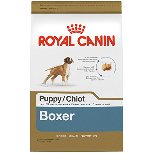 Royal Canin BREED HEALTH NUTRITION Boxer Puppy dry dog food, (Boxer Dry Dog Food)