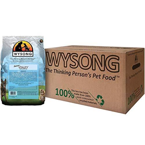 Four- 5 Pound Bag Wysong Optimal Vitality Adult Feline Formula Dry Cat Food, Four- 5 Pound Bags