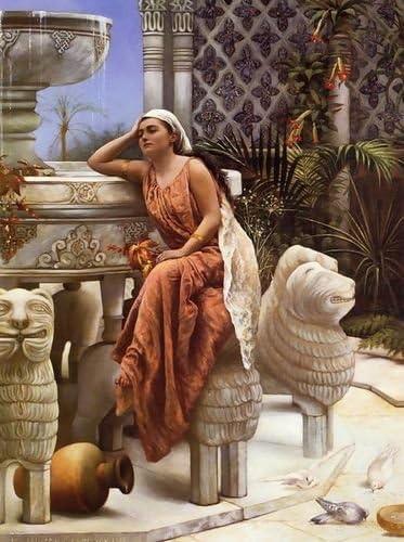 Margaret Murray Cookesley a restful momento por el león pluma estilográfica en el Alhambra, España: Amazon.es: Hogar