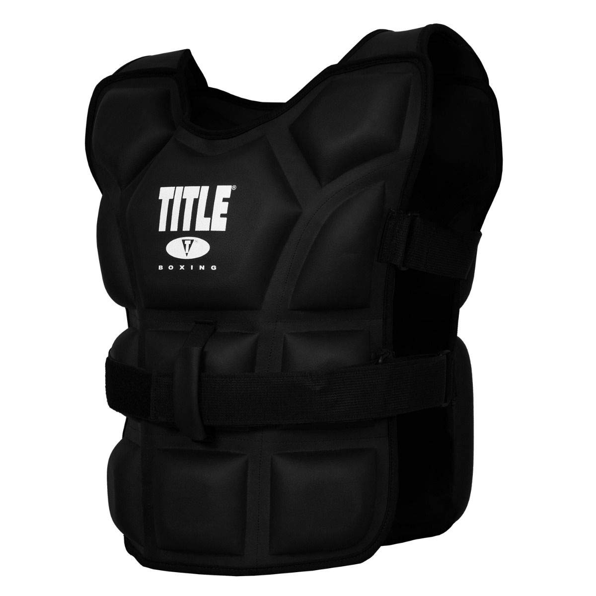 Title Boxing ''Big Flex Weighted Training Vest, Black