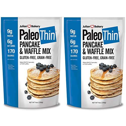 Paleo Pancake & Waffle Mix (Low Carb & Gluten Free) - 2 Pack, 9 OZ