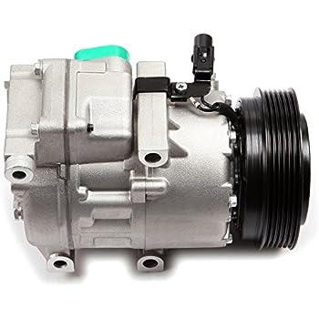 ECCPP Compatible fit for New A/C Compressor with Clutch CO 10916C - 977012B201 fits Sonata Santa Fe Sorento Optima Comprssors