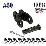 50 Standard Roller Chain Offset Link (10PCS)