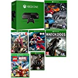 Microsoft XBOX ONE 1 TB Console with 6 Games, Matte Black (Certified Refurbished)