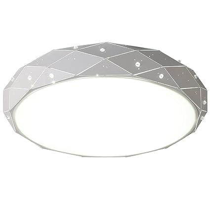 Lámpara de techo LED simple para dormitorio y sala de estar ...