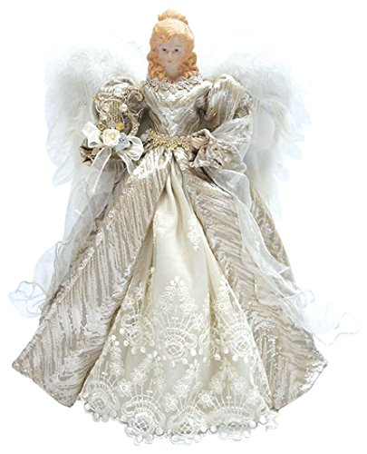 Santa's Workshop 3032 Elegance Angel Tree Topper, 16