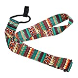 Ukulele Strap, Adjustable Nylon Bohemian Stylish Universal Strap Belt Sling With Hook for Ukulele Mini Guitar Accessory Parts