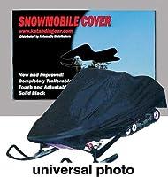 Katahdin Universal Snowmobile Cover XL Black
