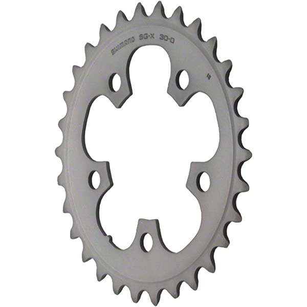 Shimano 105 5703-S 50t 130mm 10-Speed Triple Outer Chainring Silver