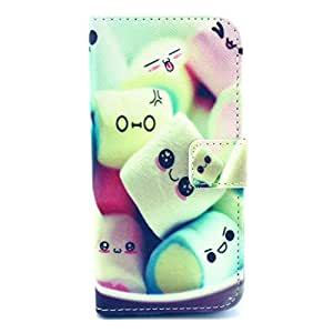 """Caka Frame Hybrid Combo PU leather Cover Case Armor Slim Defender Case For iphone 5C"""" With Color Stylus Pen - Cartoon"""