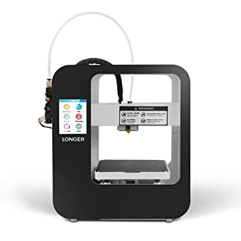 Touch Screen 3D Printer Cube 2 by Longer | Printing Size 4.7 ...