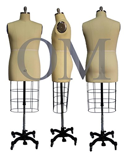 Male Professional Fashion Dressmaker Dress Form Size 42 Made by OM (Professional Series)